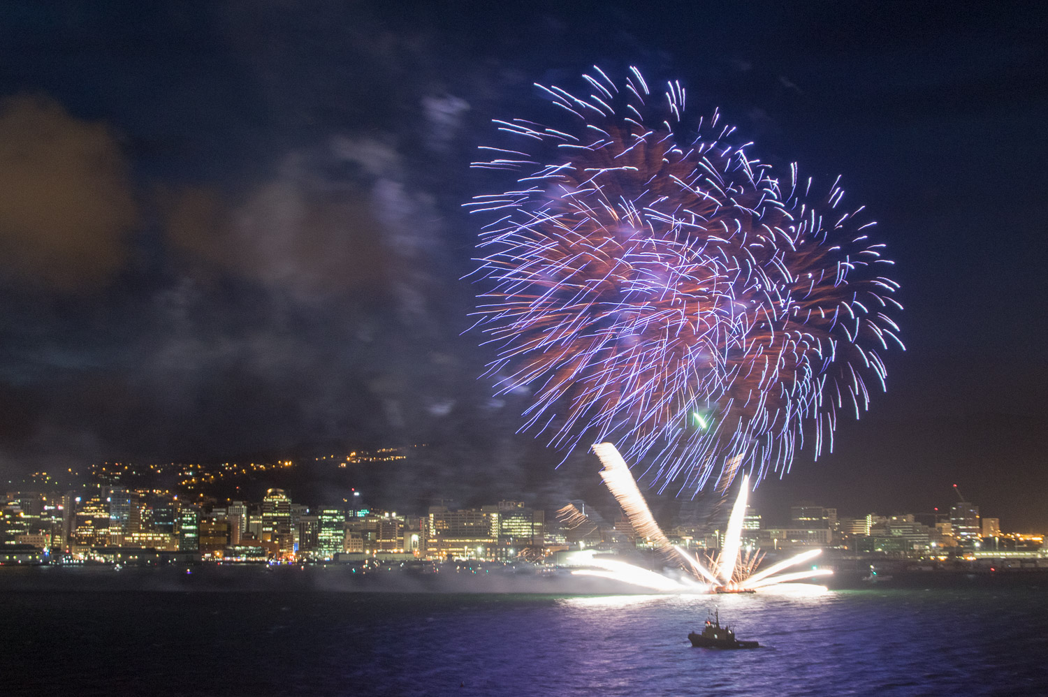 Wellington Fireworks Display 2015