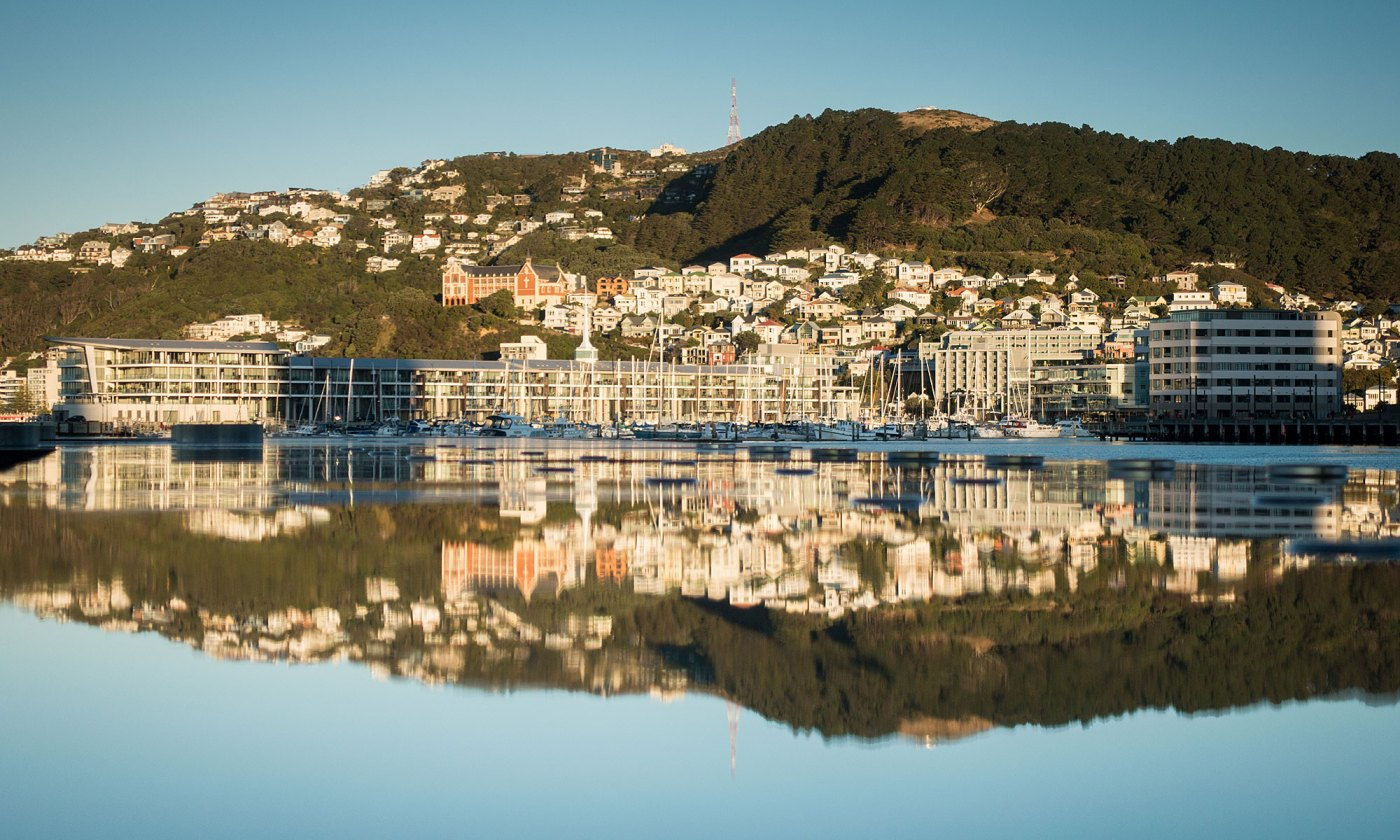 Mount Victoria reflections