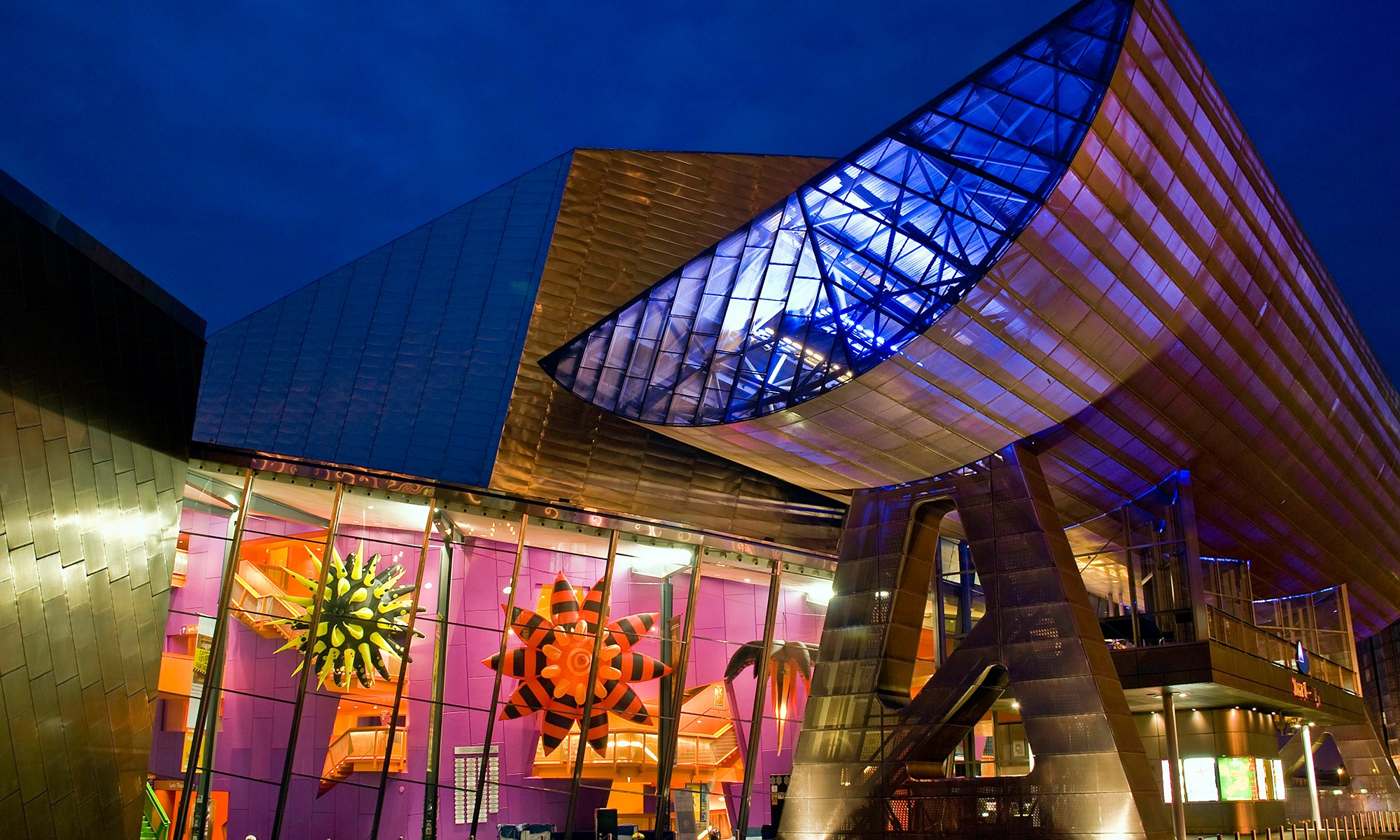 Spacecadets Artwork - The Lowry at Night