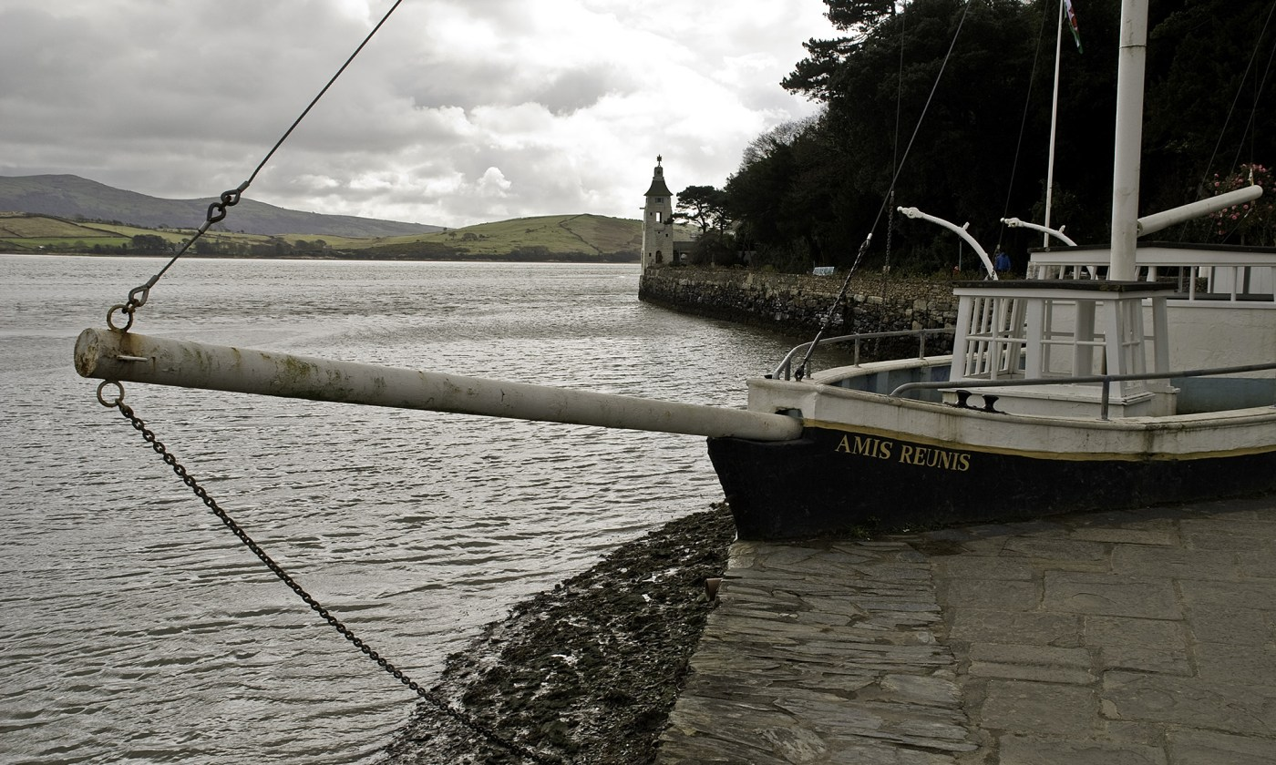 The Amis Reunis Boat at Portmeirion