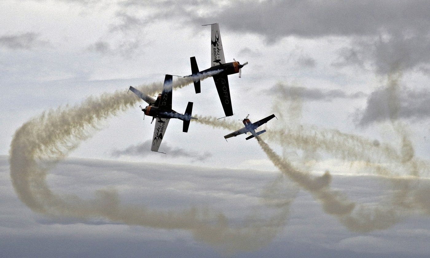 Blades Aerobatic Display Team at Southport
