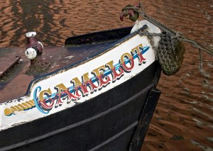 Camelot Canal Barge detail, Castlefield
