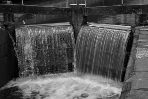 Canal Lock Waterfall Exposure Experiment