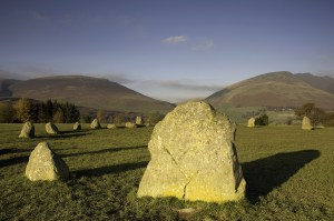 Castlerig Stone Circle close-up