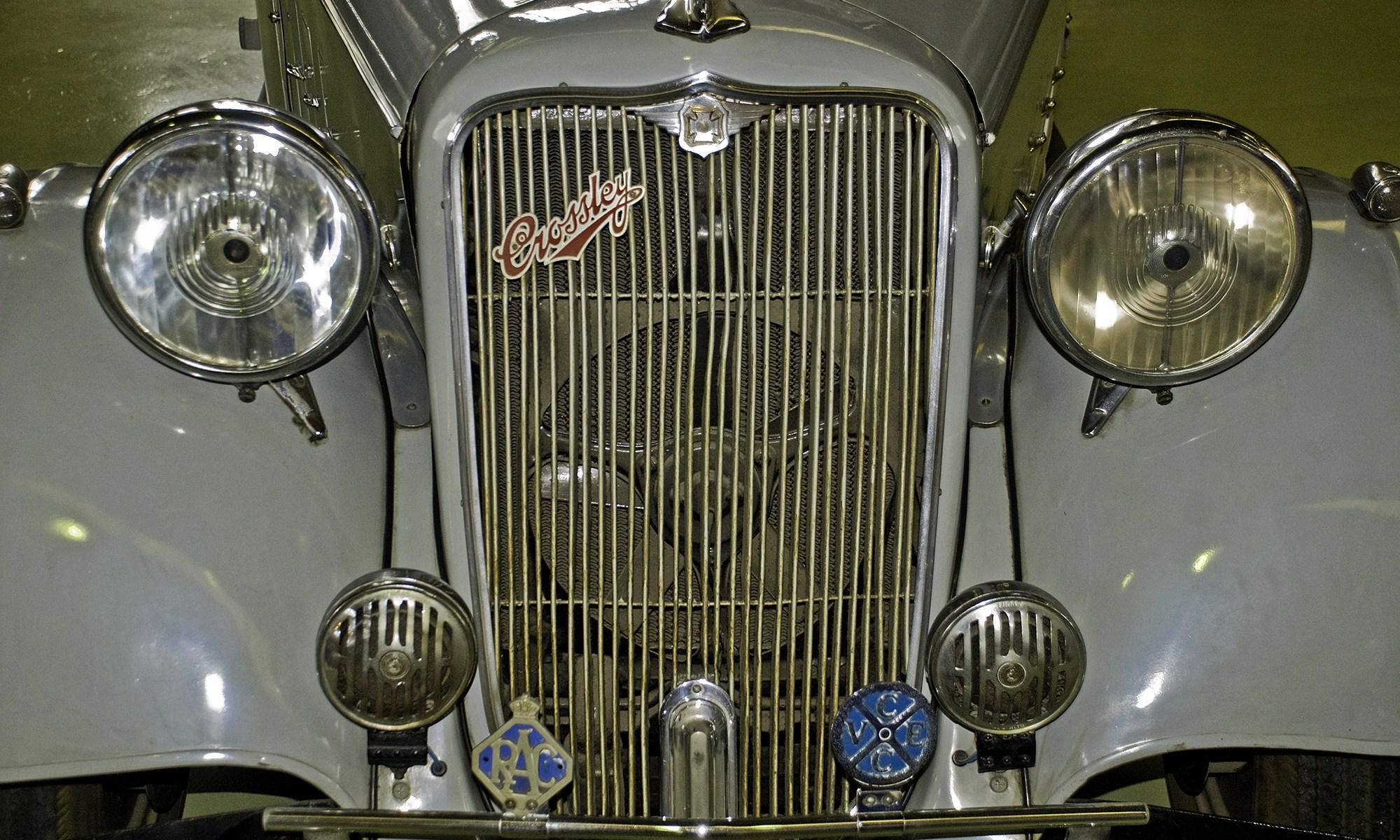 Crossley Regis six Motor Car, 1935