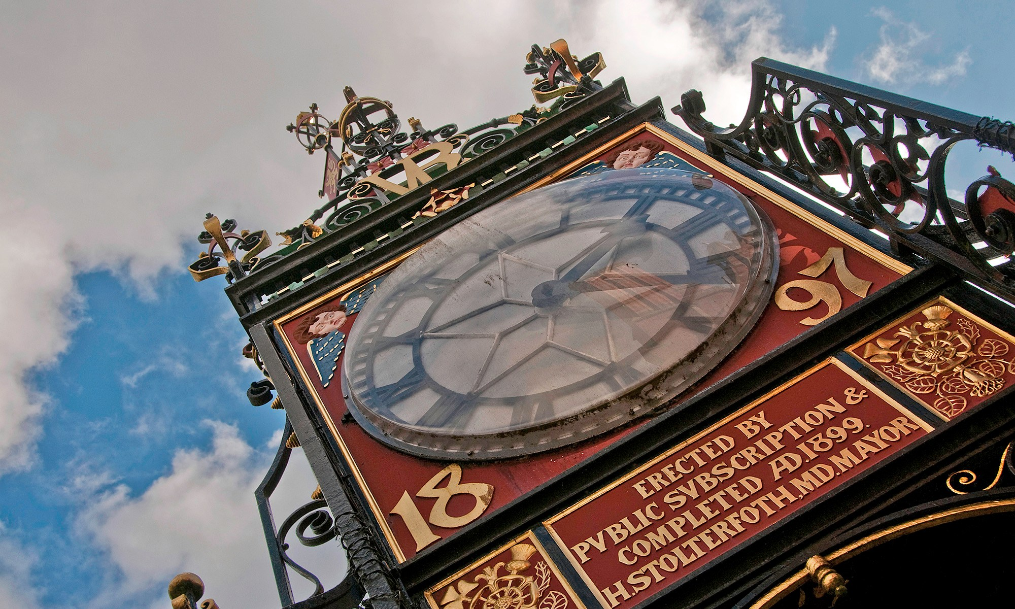 Eastgate Clock Close up, Chester