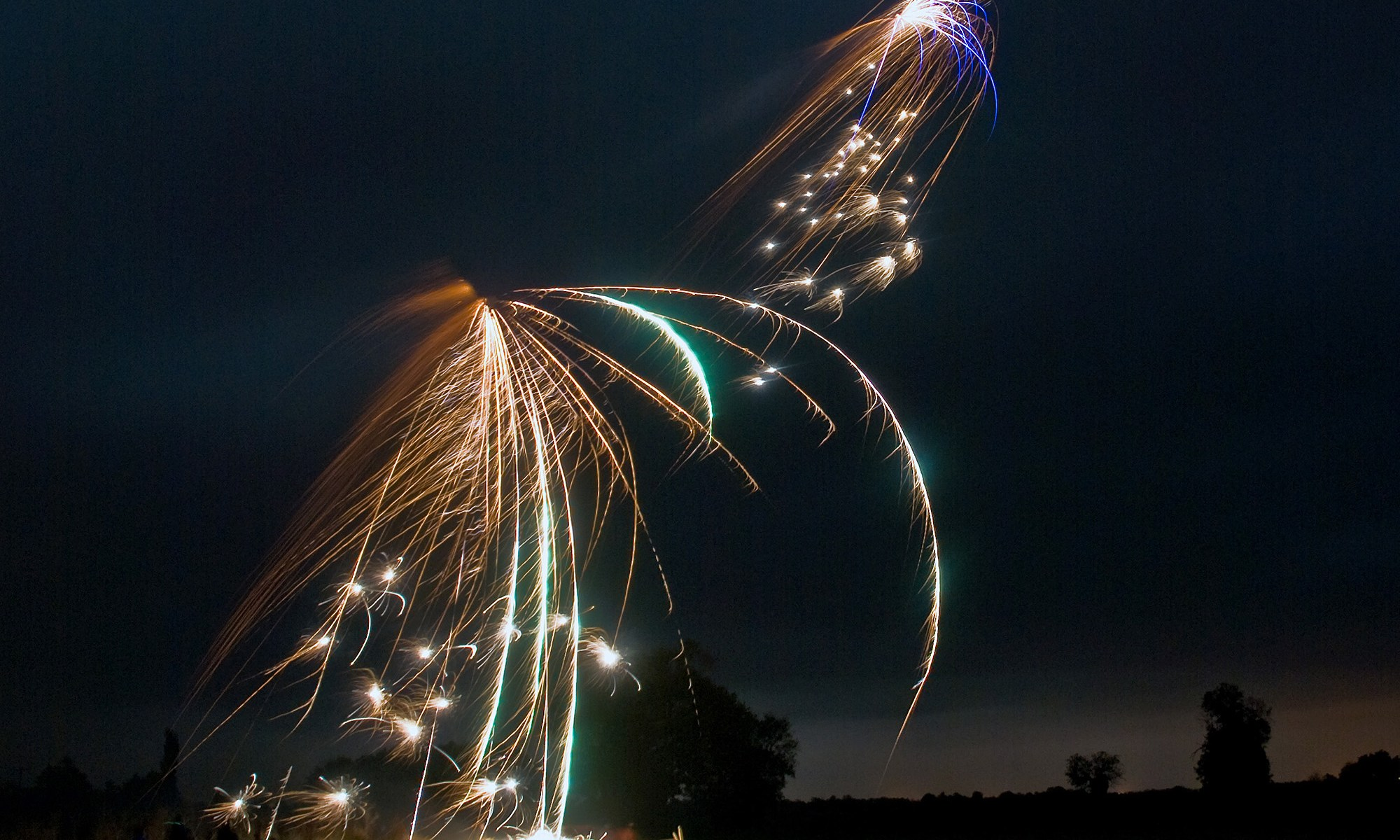 Fireworks in Horbling, Lincolnshire