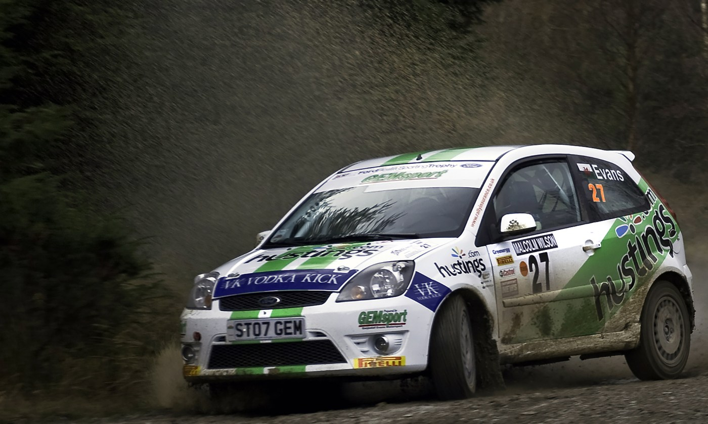 Ford Fiesta ST at Malcolm Wilson Rally