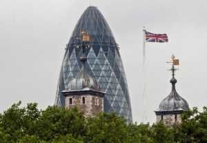 Swiss Re and Tower of London