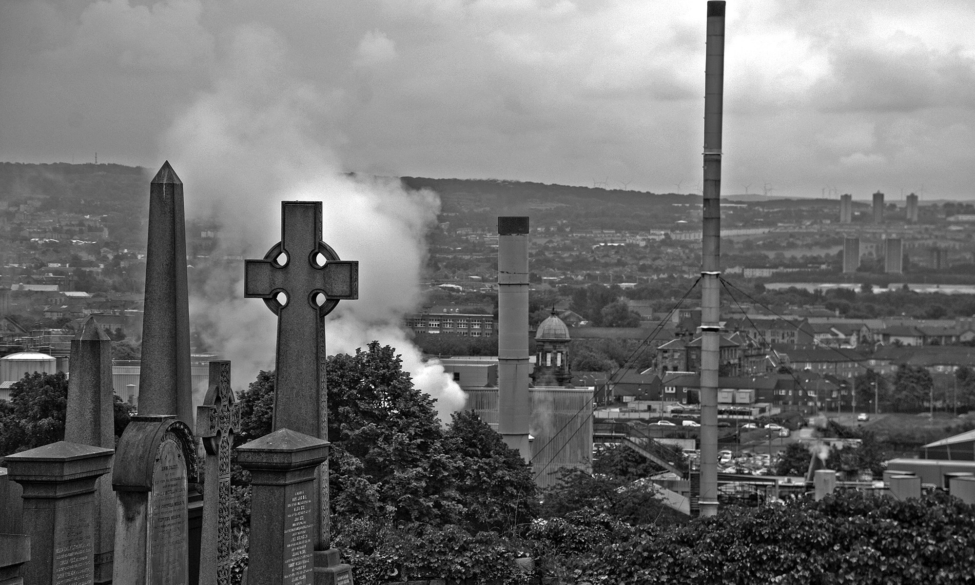 Glasgow Landscape from Necropolis