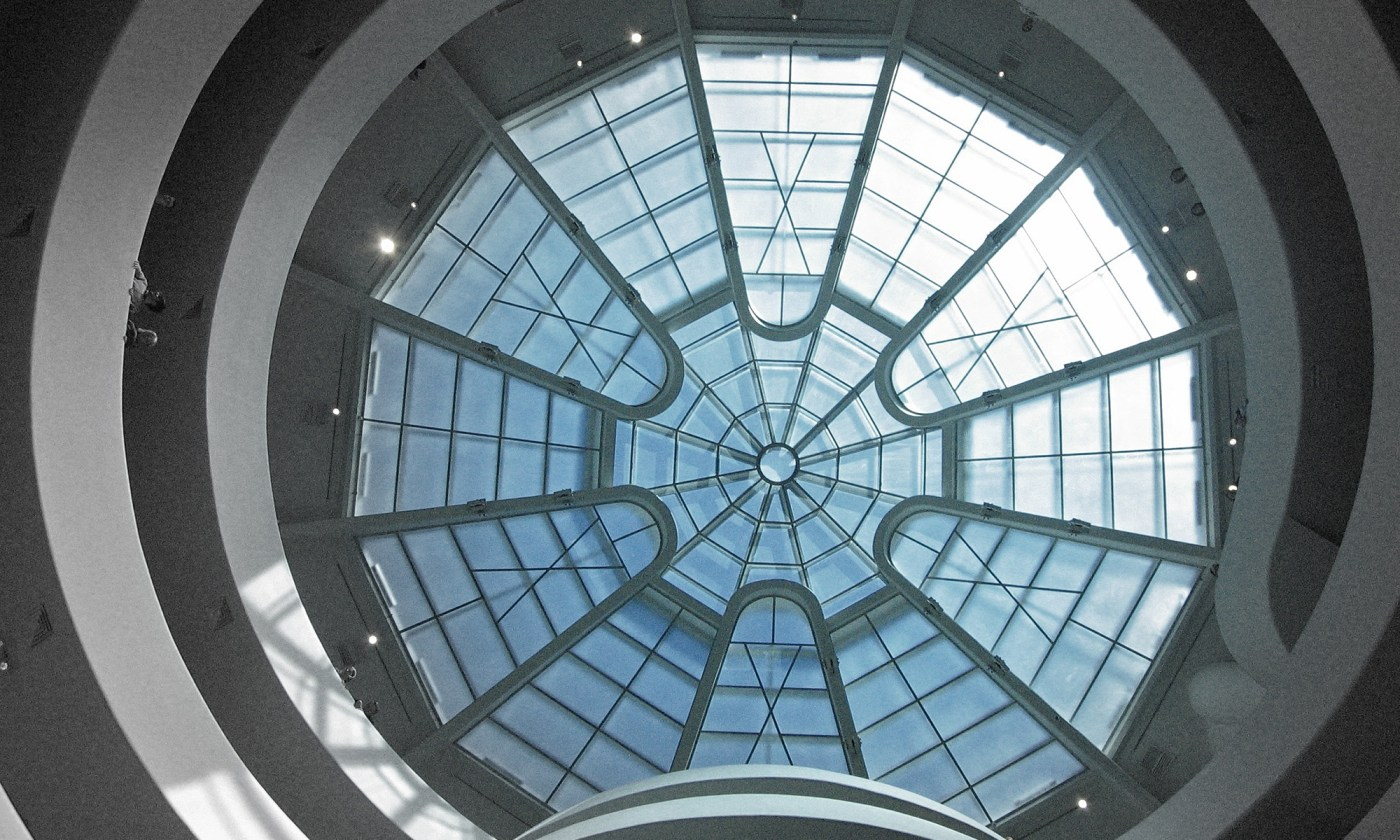 Ceiling of the Guggenheim Museum, New York