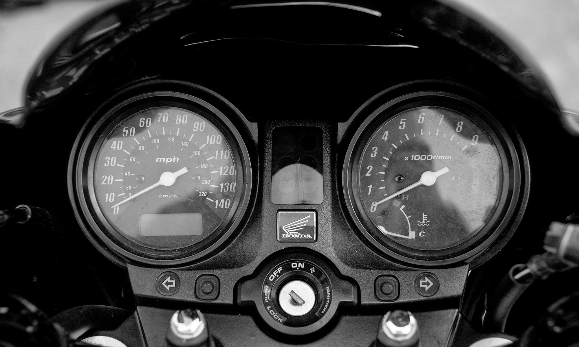 Honda CBF500 Motorcycle Instruments