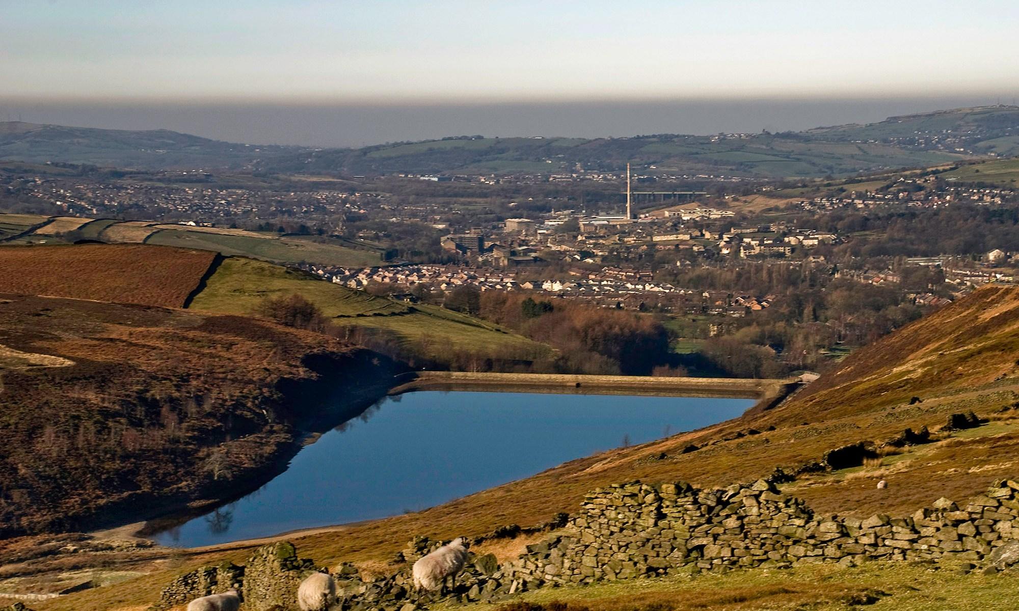 Hurst Reservoir, Peak District, Derbyshire