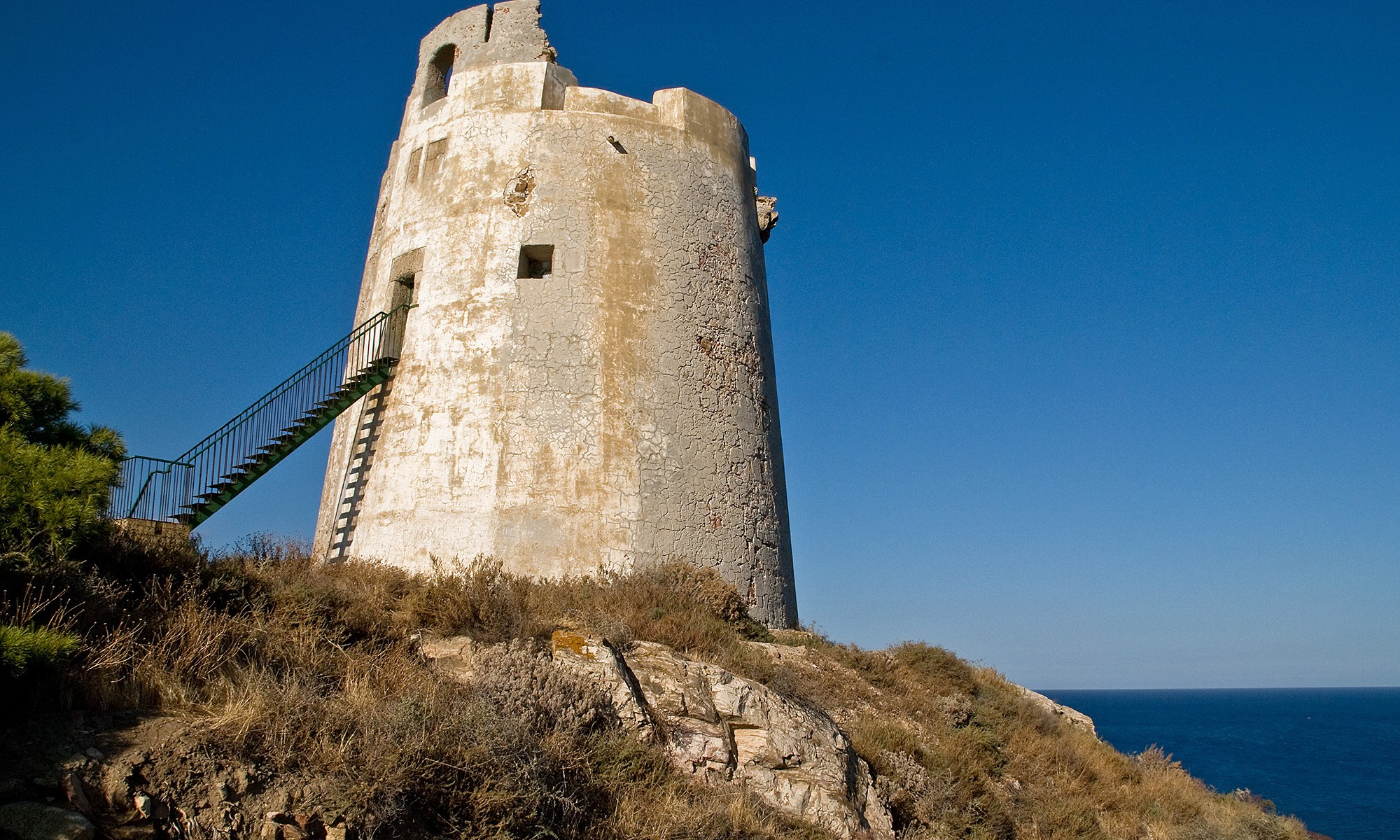 Lookout Tower on the Coast of Sardinia