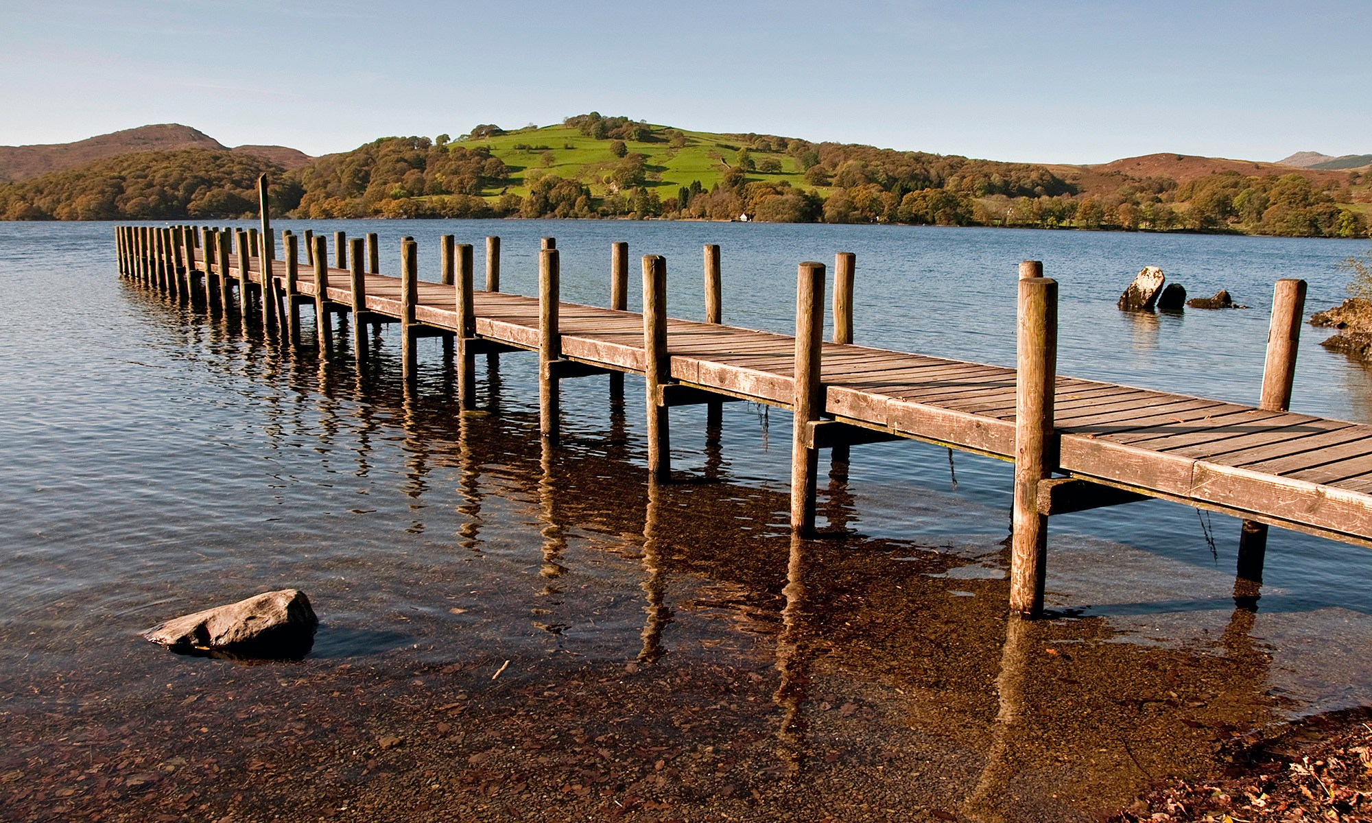 Jetty at Coniston Water, Lake District