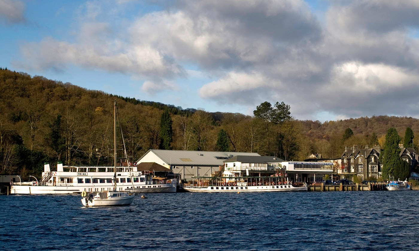 Lakeside Boats, Windermere, Lake District