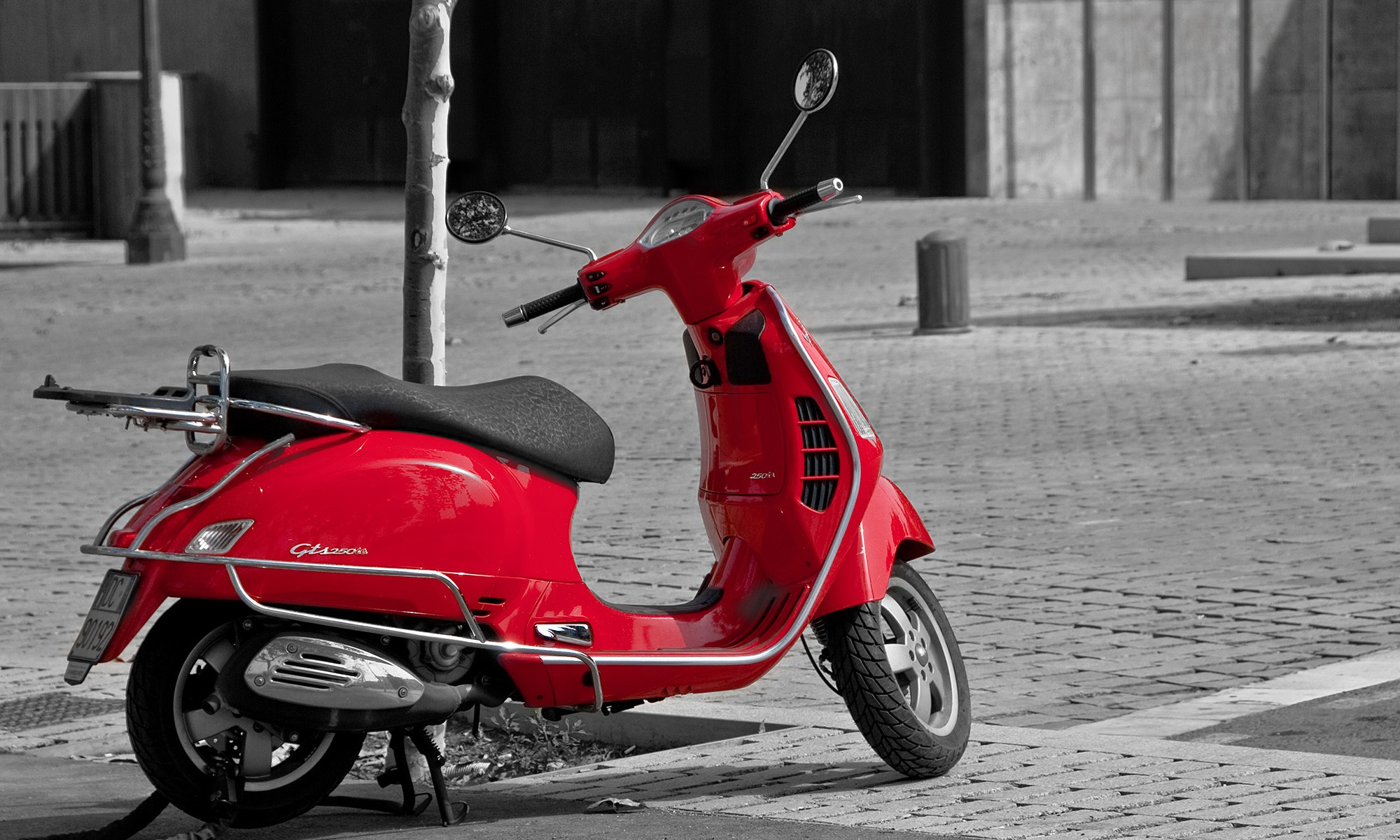 Little Red Scooter