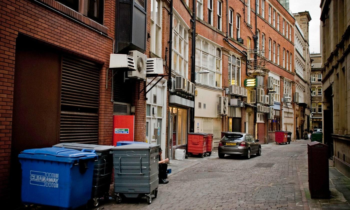 Back Alley behind Deansgate, Manchester