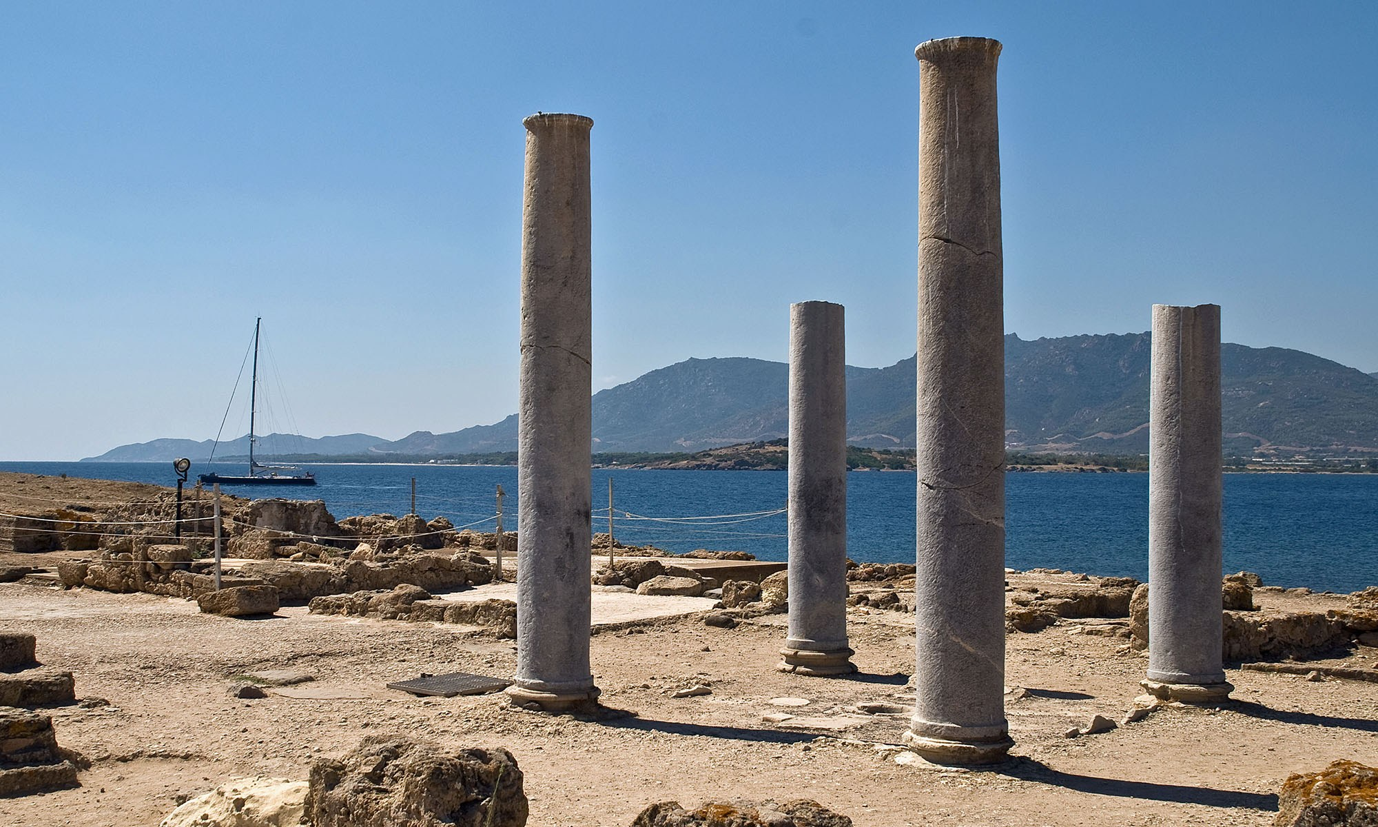 Archaeological site of Nora, Sardinia