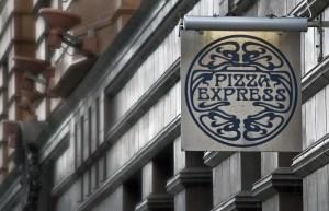 Pizza Express Sign, Peter Street, Manchester