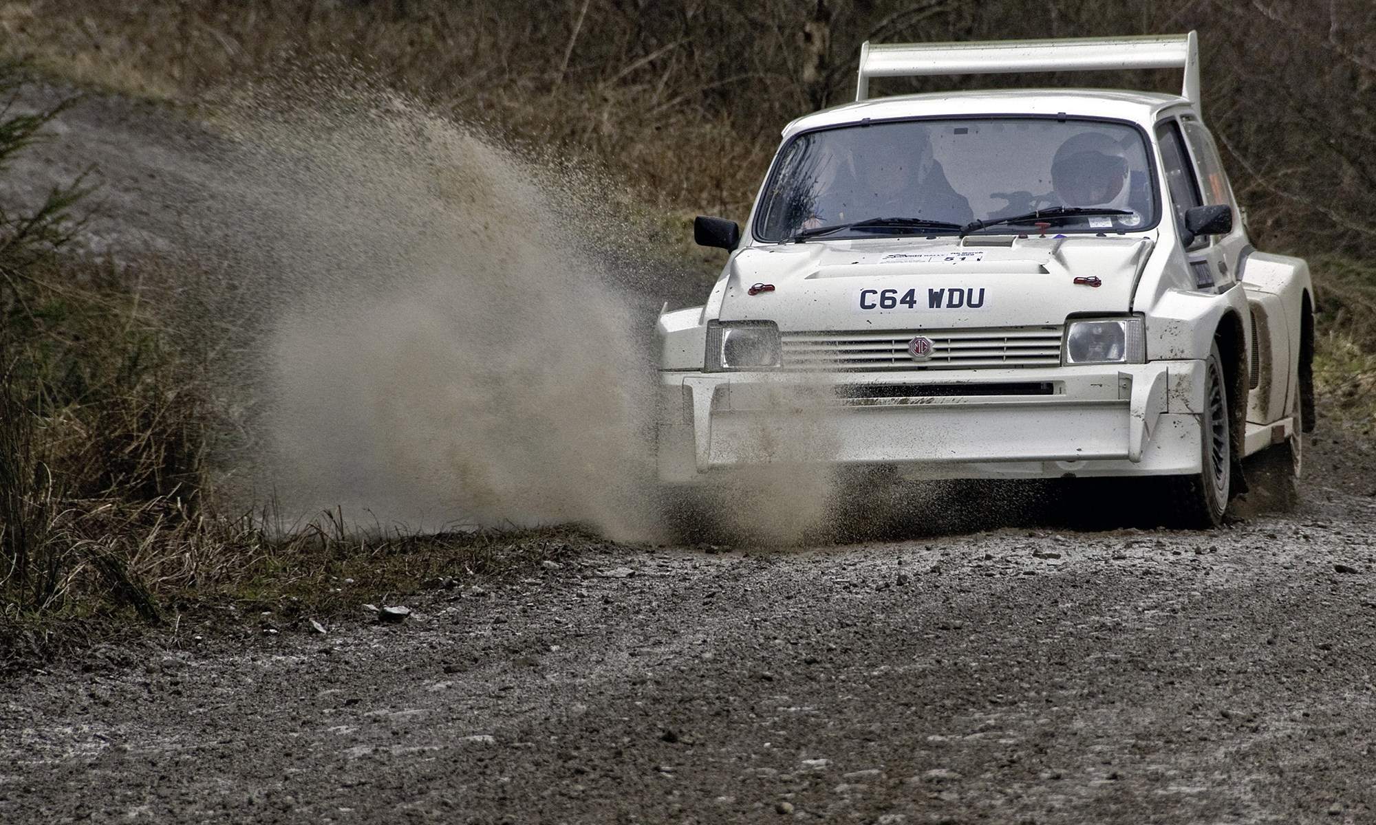 Rallying MG Metro 6R4