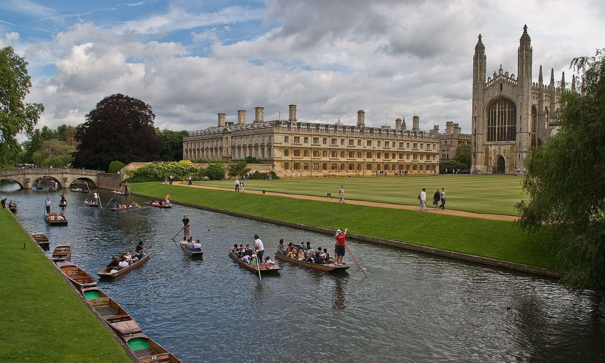 King's College from The Backs - Cambridge
