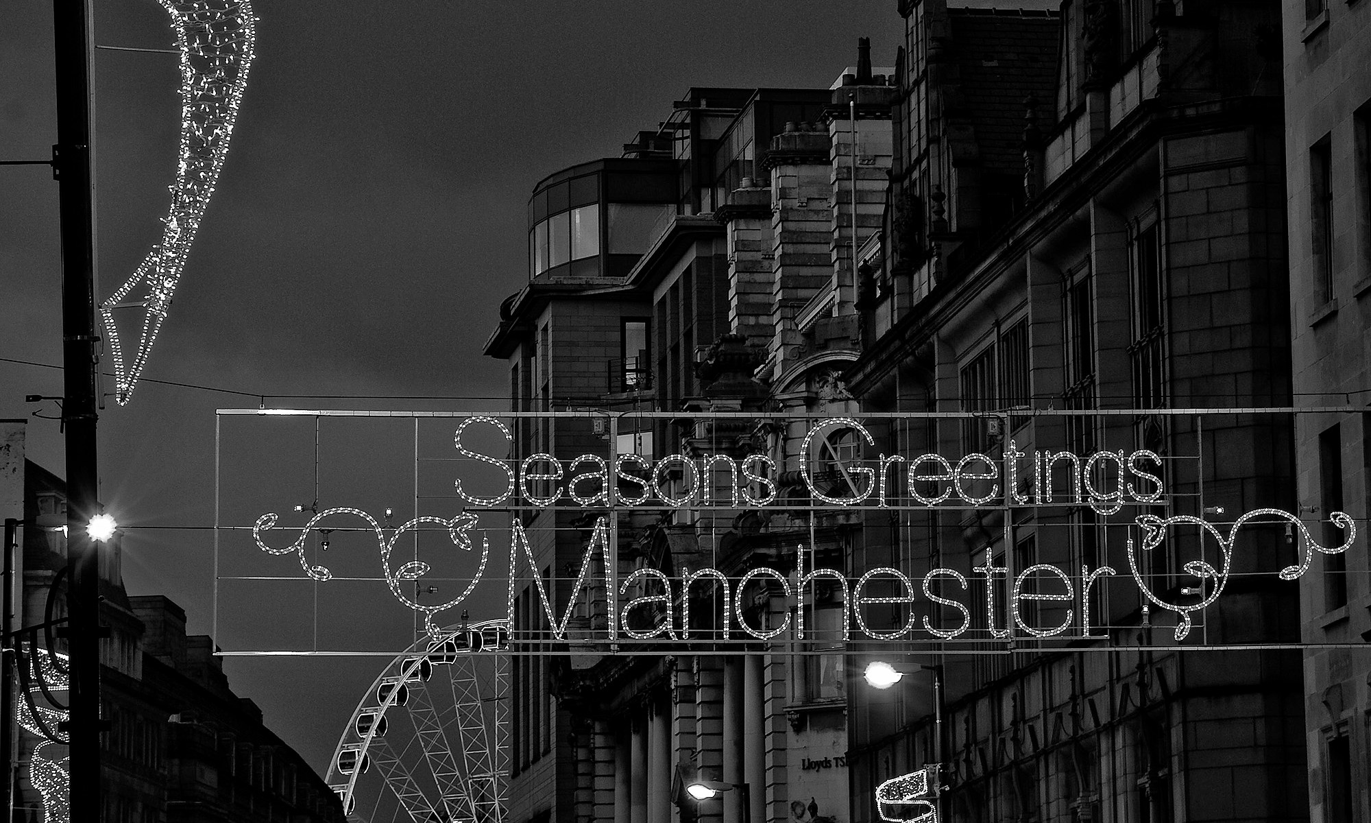 Seasons Greetings Manchester