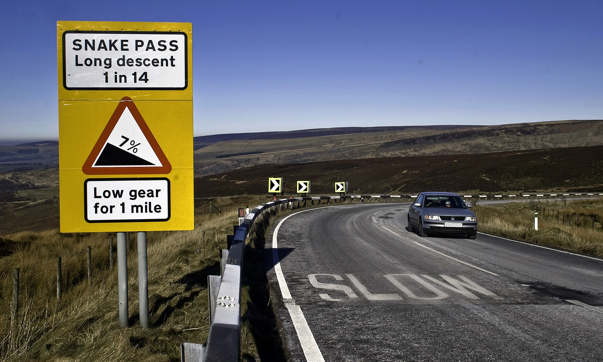 Snake Pass, Peak District National Park