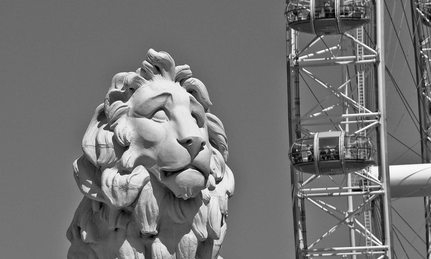 The South Bank Lion, London