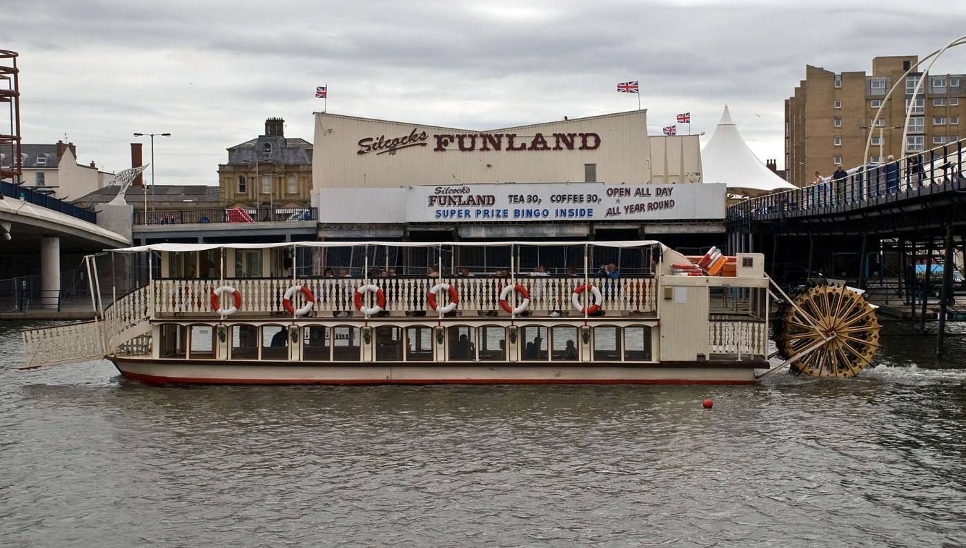 Southport Belle Paddle Steamer