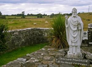 St. Patrick's Causeway Statue, Ireland