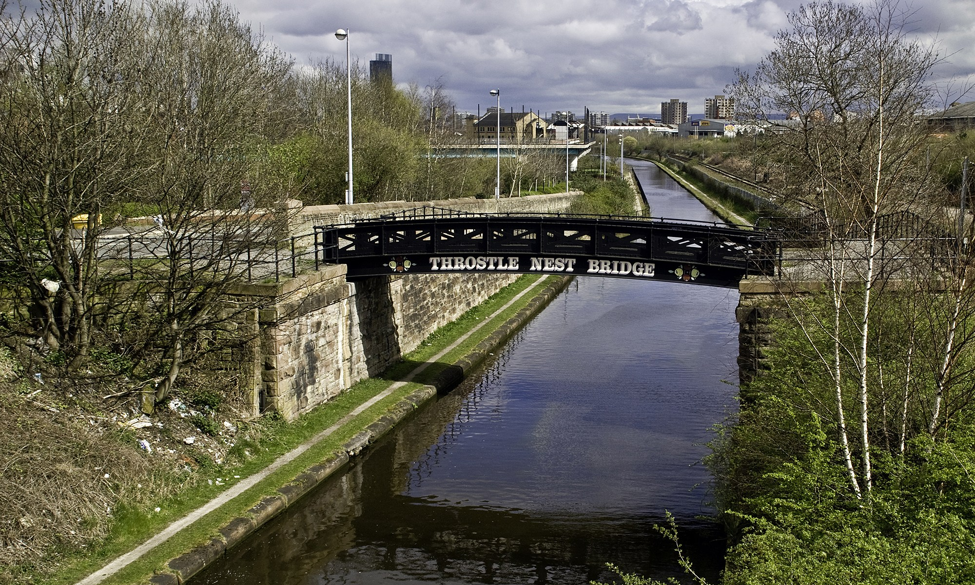 Throstle Nest Bridge, Manchester