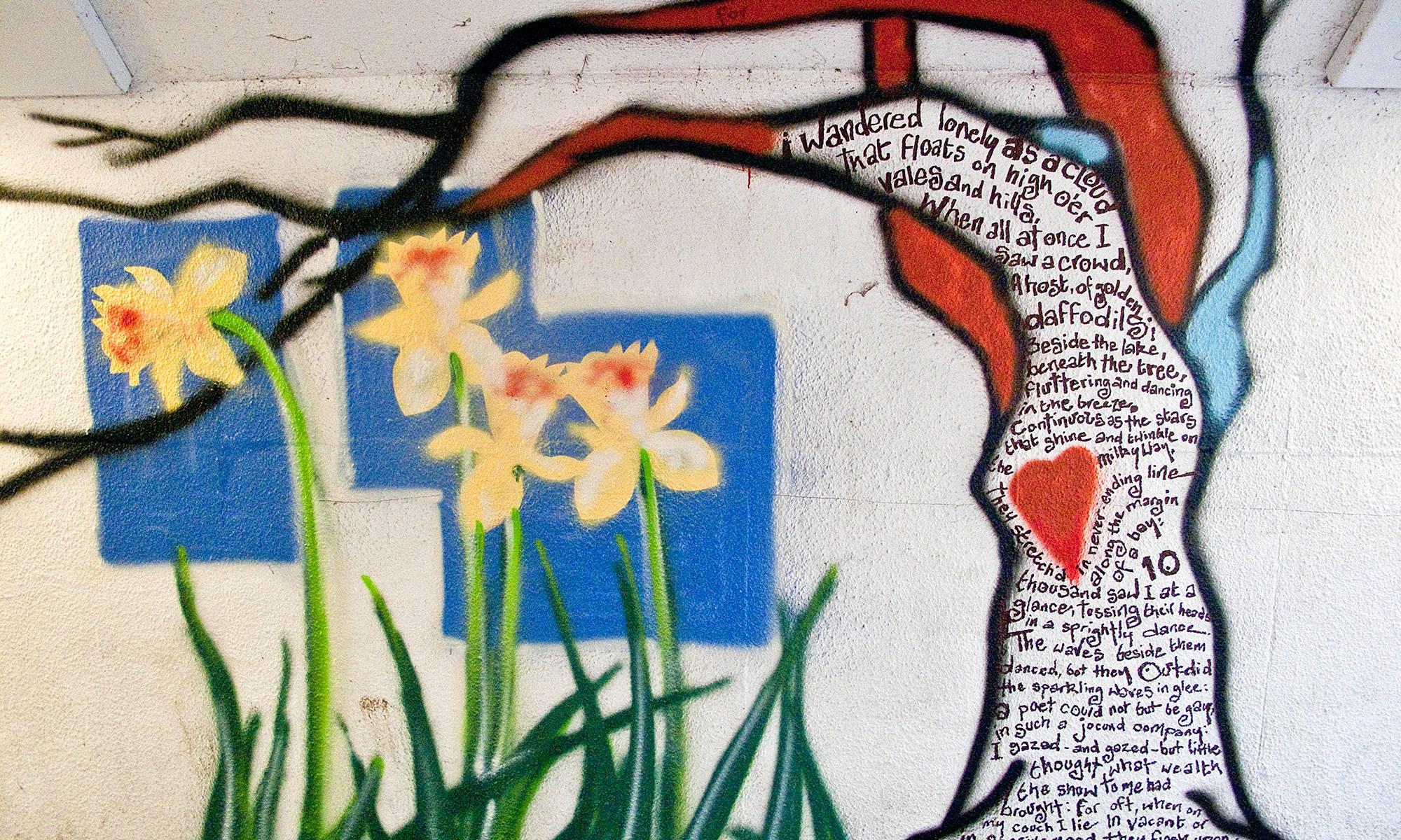 Underpass Graffiti Poem, Keswick