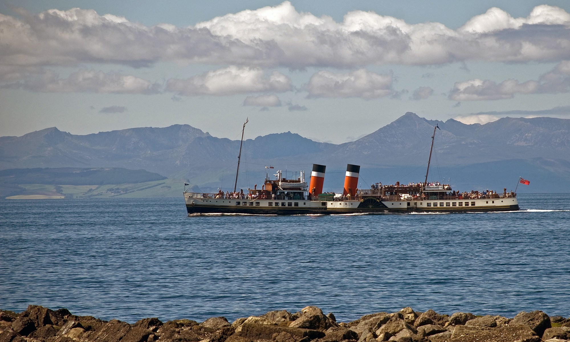 Waverley Paddle Steamer, Scottish West Coast