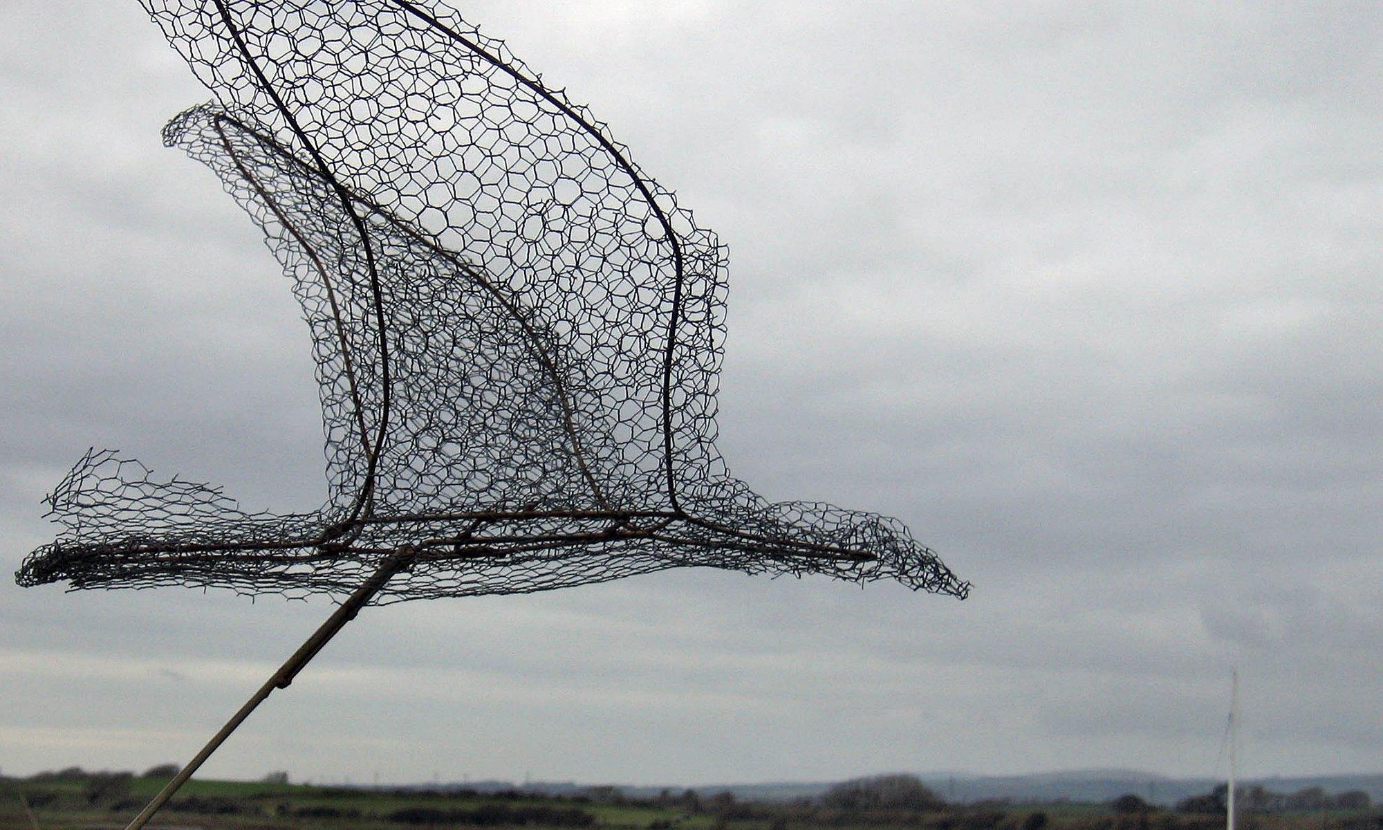 Bird Sculpture at Ravenglass