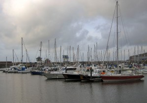 Boats at Whiteheaven Harbour