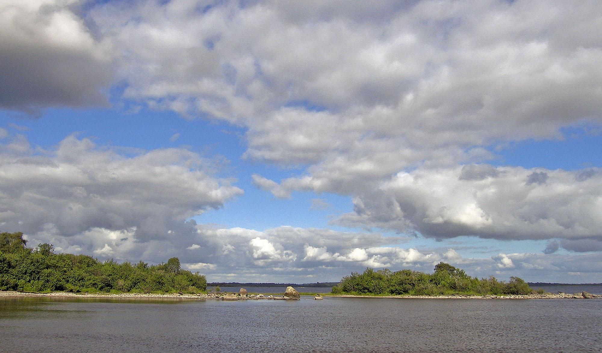 Island on Lough Mask - Ireland