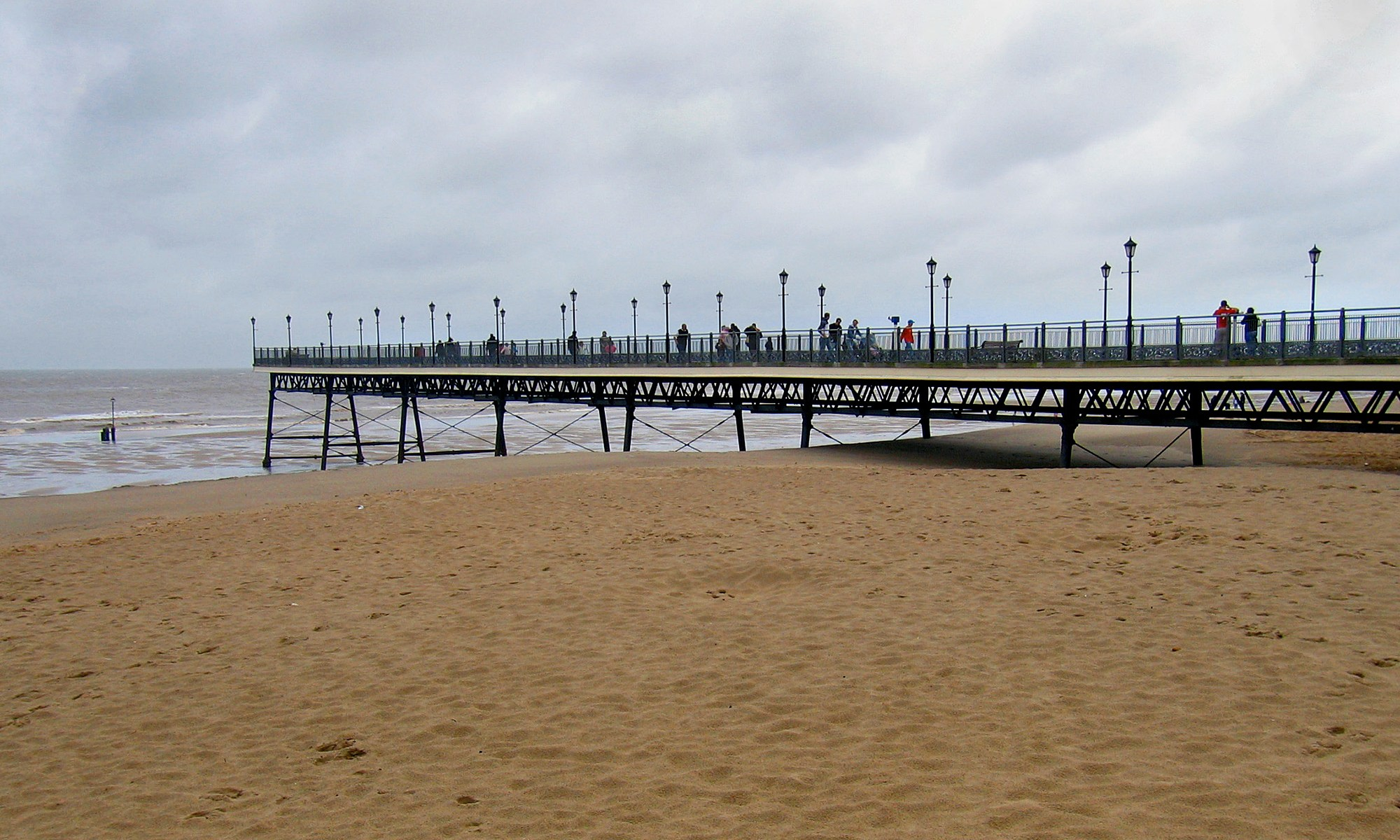 Skegness Pier - English Seaside Resort