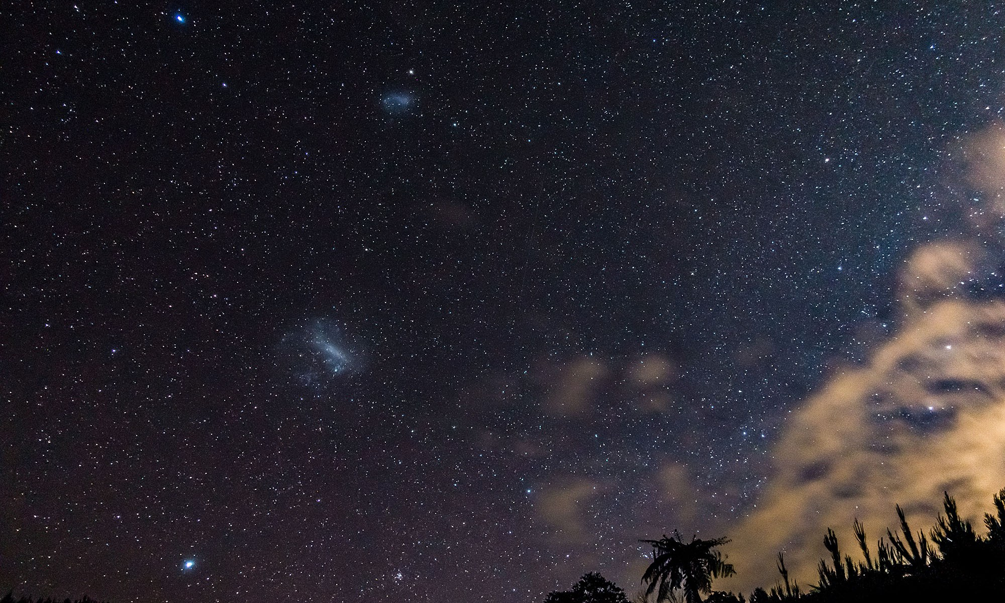 Magellanic clouds