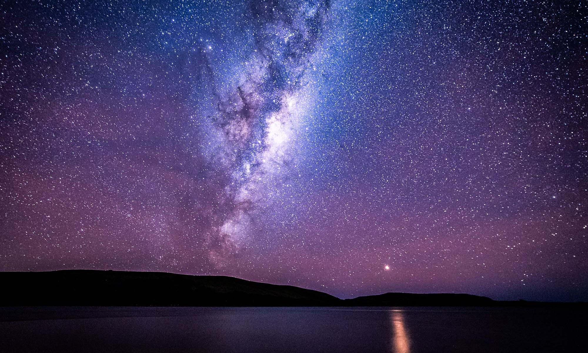 Milky Way from Haldane Bay