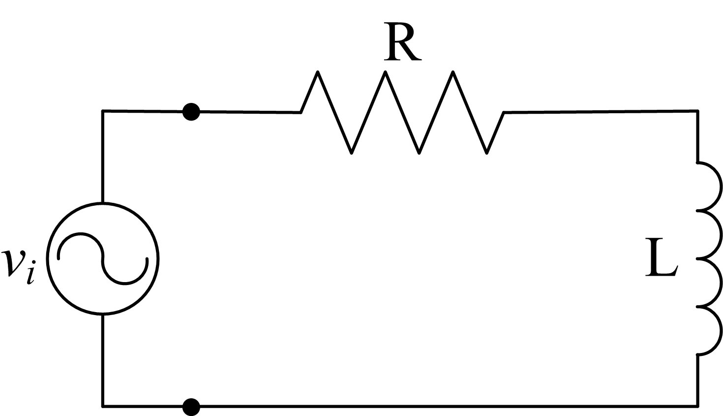 Solved A Series Rl Circuit Is Driven By An Ac Independent