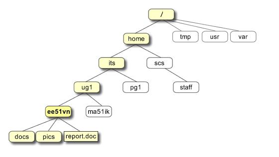 Unix File structure