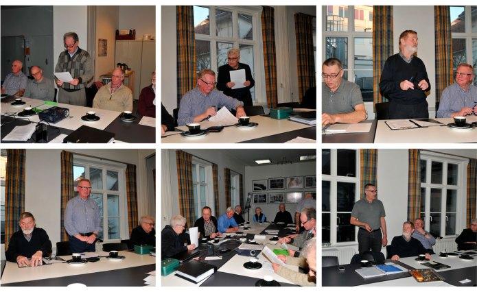 Fotos fra generalforsamlingen.