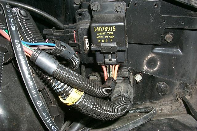 1997 S10 Fuel Pump Relay