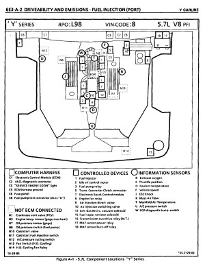 C4 Corvette Headlight Relay Location, C4, Free Engine