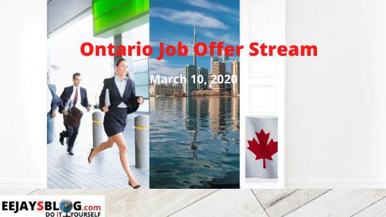 Ontario Job Offer