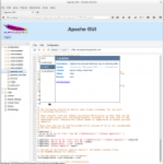 Example Apache GUI screen