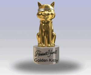 Golden Kitty Awards Trophy