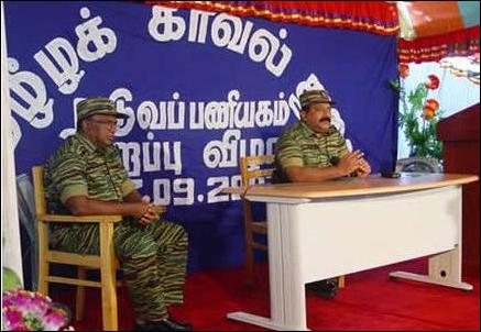 Pirapaharan opens Tamil Eelam Police HQ
