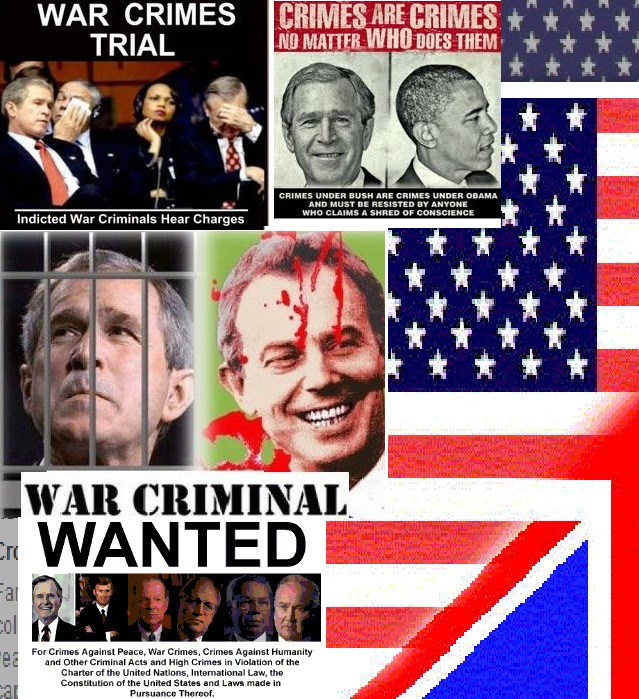 blair bush war criminals